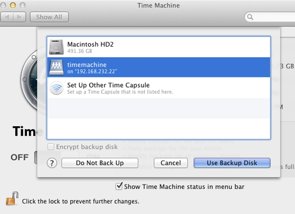 Apple's Time Machine® and Open-E DSS V6 – short manual and one tip
