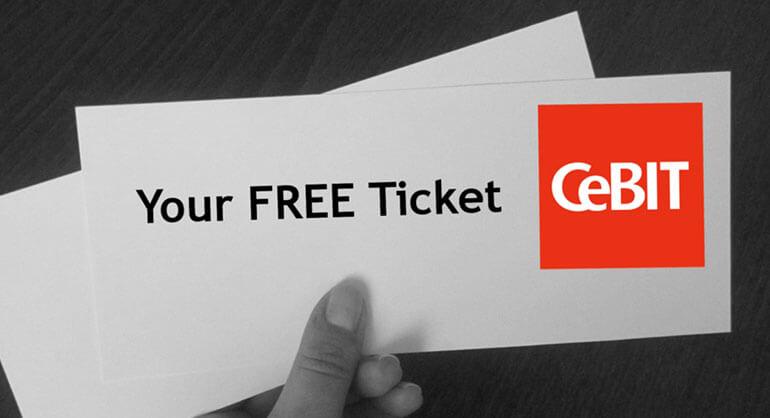 CeBIT ticket