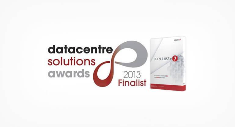 Open-E DSS V7 for Datacentre Solutions Awards 2013