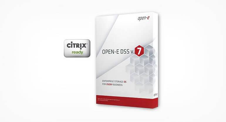 Open-E DSS V7 Citrix Ready