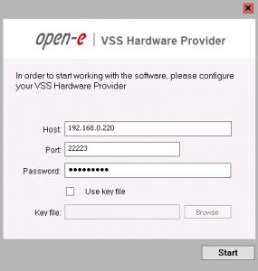 Virtual Shadow Copy Service
