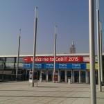 CeBIT 2015 entrance