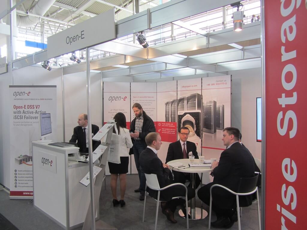 Meetings at Open-E CeBIT