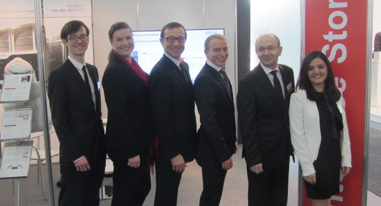 Open-E team at CeBIT