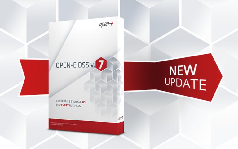 Open-E DSS V7 update 57